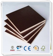 CE WBP glue 18mm waterproof concrete construction dynea brown film faced plywood Brown/Black Film Faced Plywood,Marine flooring