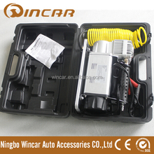 Heavy duty 12V DC air compressor with suitcase blown plastic box
