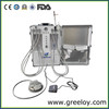 Teeth whitening home kit mobile dental van with fiber optics and dental turbina for veterinary diagnostic kit