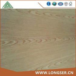 3mm Red Oak/ Teak/ Ash Veneer Fancy Plywood Price for Decoration