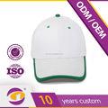 2015 nova design personalizado de alta qualidade branco em branco chapéus da china fornecedor