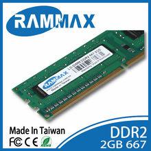 Factory Priced Desktop Part DDR2 667MHz 2GB RAM LO