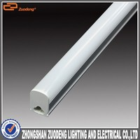 hight quality products 0.6M 12w 90lm/w led ceiling T5 led tube with holder