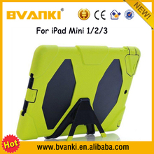 For iPad Mini Case, PC+TPU Cases Cover For iPad Case,Case Sleep And Wake Up Function Stand Smart Cover Case For iPad Mini 1/2/3