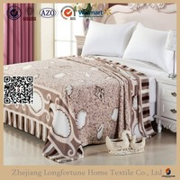 100% acrylic single layer blanket for hotel