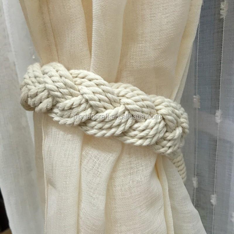 100 coton rideau embrasse rideau gland rideau corde frange id de produit 60442669463 french. Black Bedroom Furniture Sets. Home Design Ideas