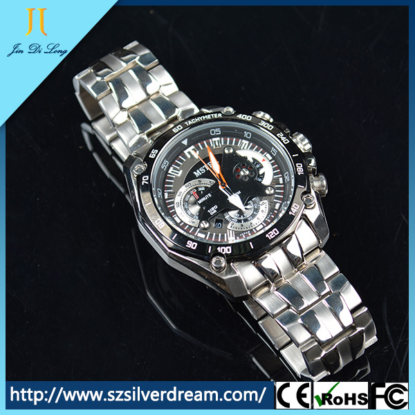 wholesale japan Movt Quartz Chronograph Watch, Branded alibaba china Supplier Stainless Steel Watch, Men Wrist Vogue Watch