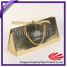 Hot selling luxury wholesale royal golden cosmetic bag