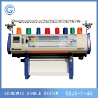 new flat bed knitting machine,single system computer flat knitting machine for knitting sweater,scarf,hat,blanket