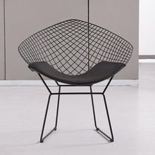 Best de aço inoxidável em forma de diamante cadeira da sala de estar