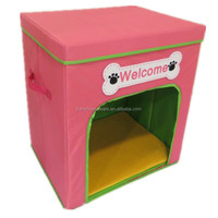 Taizhou Jiahe Pet Product Collapsible Fabric Dog House 2-layer Dog Carrier
