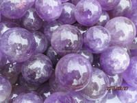0.2 to 0.8 kg size Natural amethyst quartz crystal spheres more purple amethyst