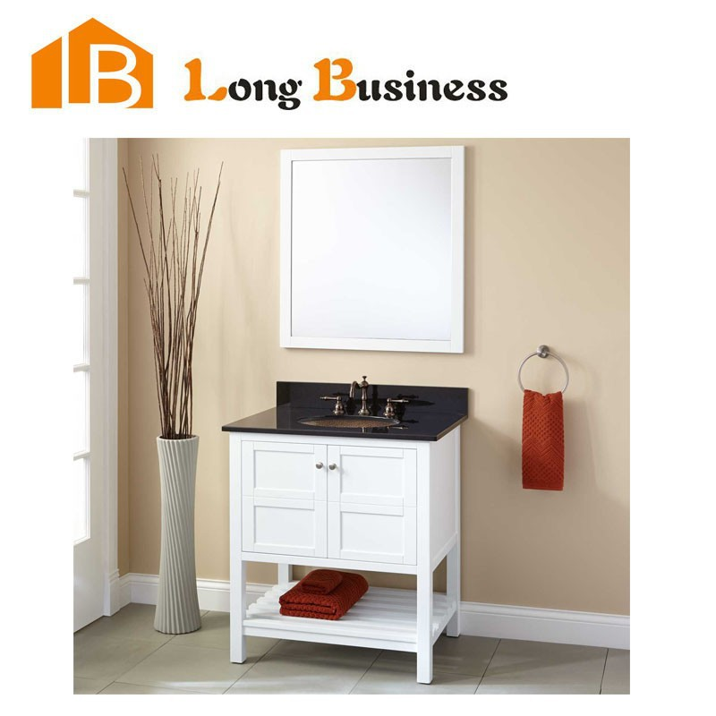 Lb Lx2134 Solid Wood Bathroom Vanity Hotel Bthroom