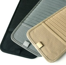 Auto Sun Visor CD Holder 12 CD Storage For Car CD Case And Bag Universal Design Mix Color