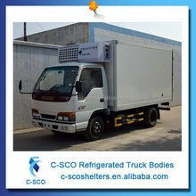 Meat and dairy refrigerated transportation vehicles
