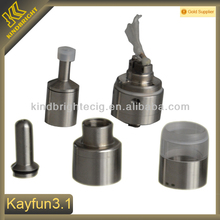 factory price clear tube kayfun lite