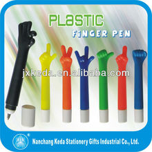 funny pen girl funny girls 12 years plastic failed ball-point pens set with different gesture pen's