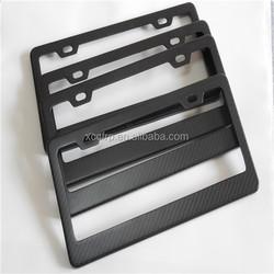 Supply Carbon Fiber Car Parts Of License Plate Frames