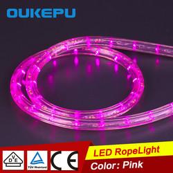 Pink Color LED Flexible Strip Light decorative led rope light