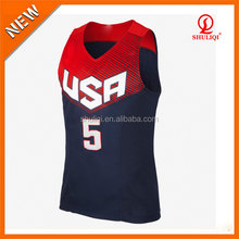100% polyester high quality breathable sportwear dry fit basketball uniform