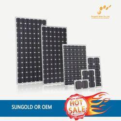 OEM slim solar panel --- Factory direct sale