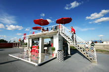 mobile bars/container bar/prefabricated contianer shop store