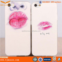 3D Sublimation Case for iPhone 6 Plus With Red lip