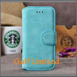 wholesale Golden Phoenix Frosted Genuine Leather Wallet Case for iPhone 5