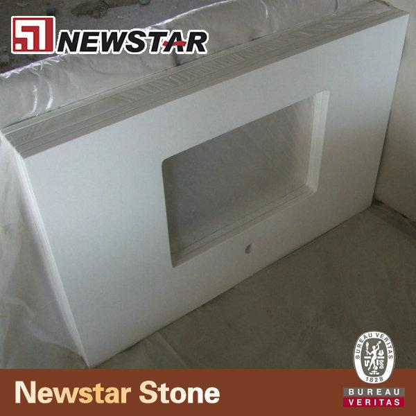 Grey Quartz Stone Quartz Stone Vanity Top