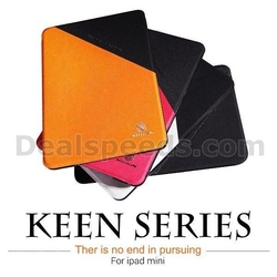 NILLKIN Keen Series Double Color Design Foldable Flip Stand Leather Case for iPad Mini for iPad Mini 2 Retina