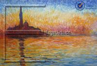 Shenzhen Wholesale High Quality Canvas Impression Famous Art Reproduction Claude Monet Nature Painting