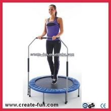 CreateFun Workout Trainer 40 Mini Trampoline Fitness Exercise Foldable Tone