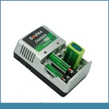 slow nimh 9v low power battery charger for aa aaa 9v