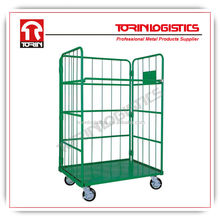 Industrial steel foldable rolling pallets (L1450*W700 mm/OEM)