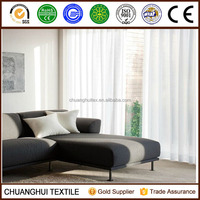 2015 NEW ARRIVAL ! Pinch pleated Solid White Sheer Window Curtains