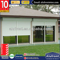 Wholesale Aluminum Electrical Roller Shutter Door with Hot Sale