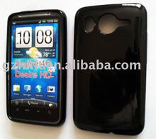 Mobile phone case TPU Skin Soft Gel High Gloss UV style silicone case Inspire 4G Desire HD for HTC