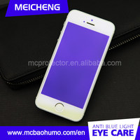 2015 New product for iphone 5 Anti blue light Anti UV Tempered glass Invisible screen guard for iphone 5S