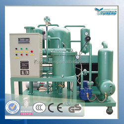 YUNENG ZJC-T Turbine Oil Vacuum Purifier Effectively Remove Oil Sludge And Glue