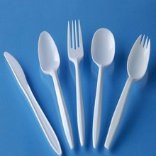 multi-colored kids disposable medium weight plastic PP cutlery