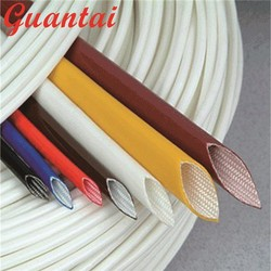 General and Specific Insulated Hose Fiberglass Silicone Rubber Braid Sleeve