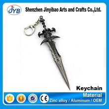 famous game theme keychain LOL league of legends key ring maker