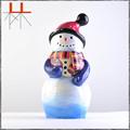 candeleros muñeco de nieve