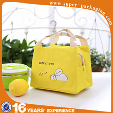Promotion wholesale cute Baymax cooler aluminum foil kid lunch bag for school
