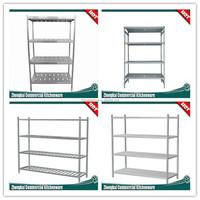 2015 Newest Kitchen equipment/Hotel/Restaurant Shelves Four Layers Flat /kitchen stainless steel shelves