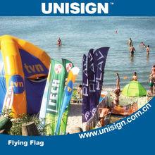 verão quente vendendo custom bandeiras de praia para venda