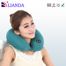 Hot sale best travel produts foam particle traveling pillow for airplanes easy to attach to a carry-on luggage