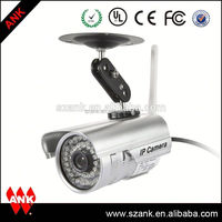 Outdoor p2p waterproof cctv camera rotating wireless ip camera outdoor for iphone ipad android app