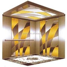 Passenger elevator with gearless elevator lift motor
