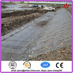 gabion box chicken wire fencing mesh/cost of gabion baskets/galvanized gabions mattresses